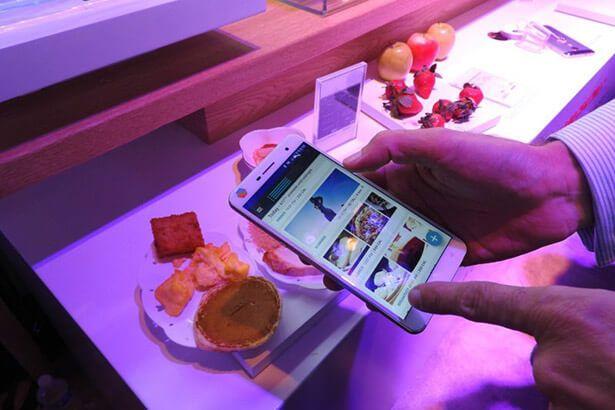 Smartphone é capaz de detectar a composição molecular de materiais Background