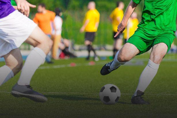 Pesquisa revela que futebol é responsável pela maioria das lesões nos joelhos Background