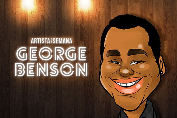 George Benson é o Artista da Semana Background