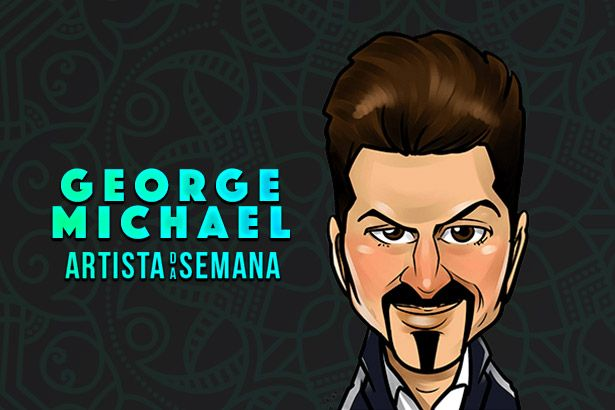 George Michael é o Artista da Semana Background