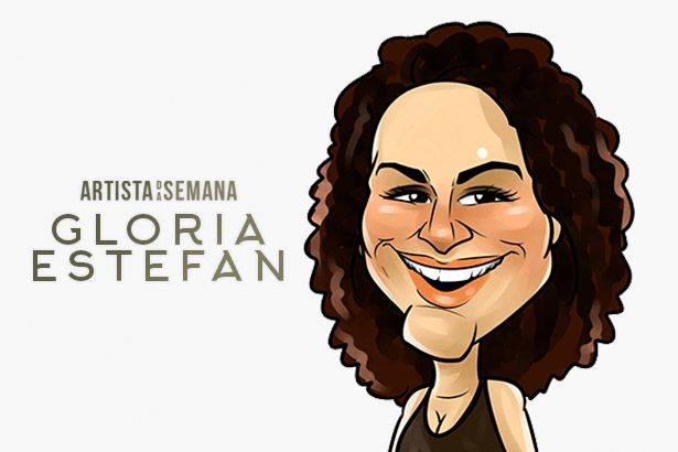 Gloria Estefan é a Artista da Semana Background