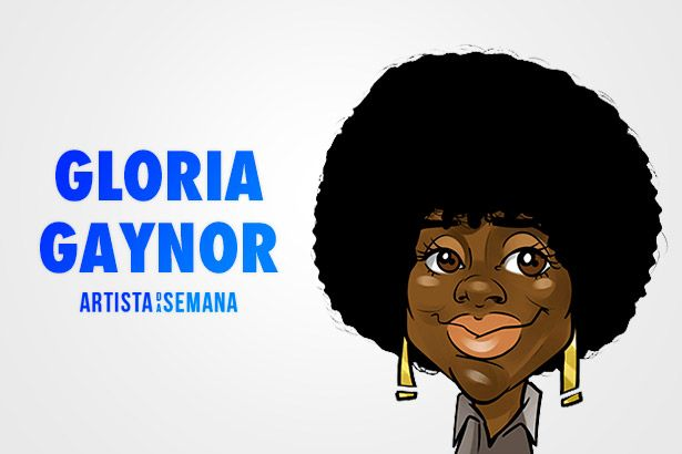Gloria Gaynor é a Artista da Semana Background