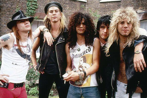 Guns N'Roses no Brasil em novembro Background