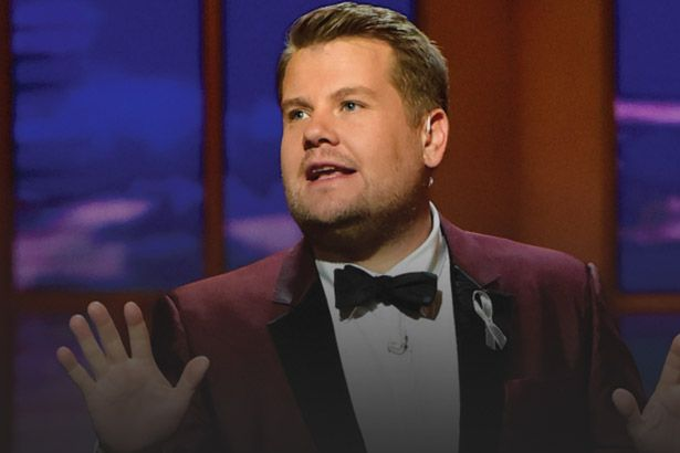 James Corden apresentará Grammy novamente Background