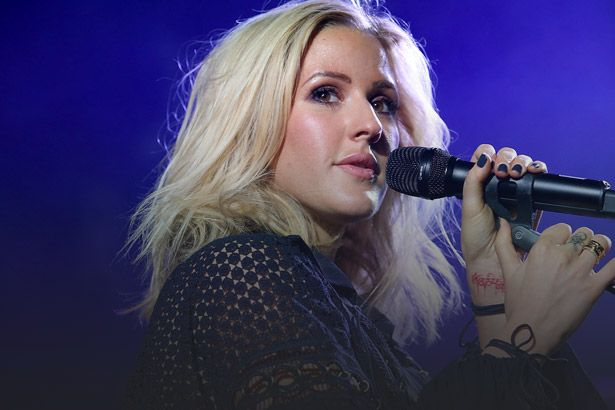 "Ellie Goulding faz cover de ""Sign Of the Times""; confira Background"