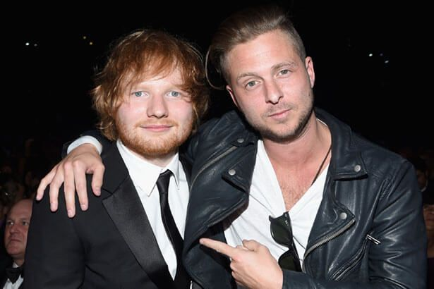 Ryan Tedder compôs música emocionante para álbum de Ed Sheeran Background