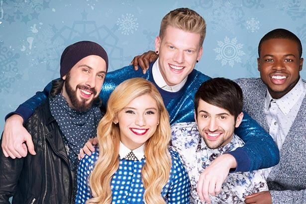 Pentatonix vai ao Top 5 com dois álbuns natalinos Background