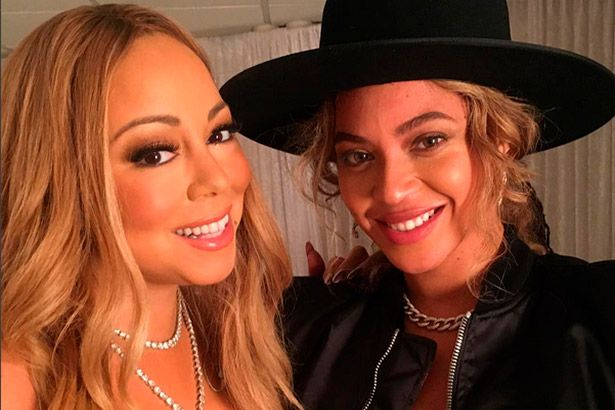 Placeholder - loading - Mariah Carey e Beyoncé juntas em bastidores natalinos Background