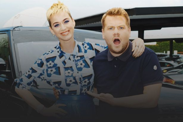 Katy Perry participa do Carpool Karaoke; assista Background