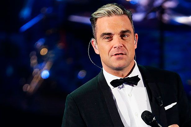 Robbie Williams é britânico com mais discos no topo da parada do Reino Unido Background