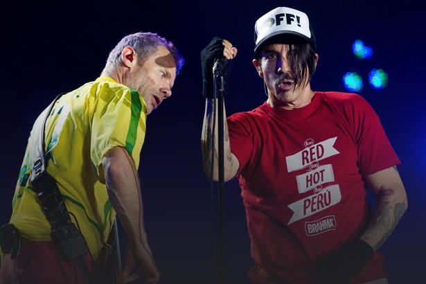 Red Hot Chili Peppers pode participar de festival no Brasil em 2018 Background