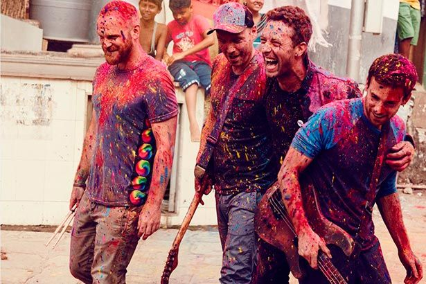 Coldplay libera clipe de Everglow Background