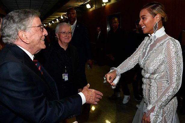Tony Bennett e Beyoncé podem trabalhar juntos Background