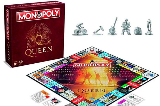 Monopoly ganha versão da banda Queen Background