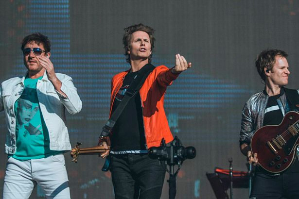 Saiba como foi show do Duran Duran no Lollapalooza Background
