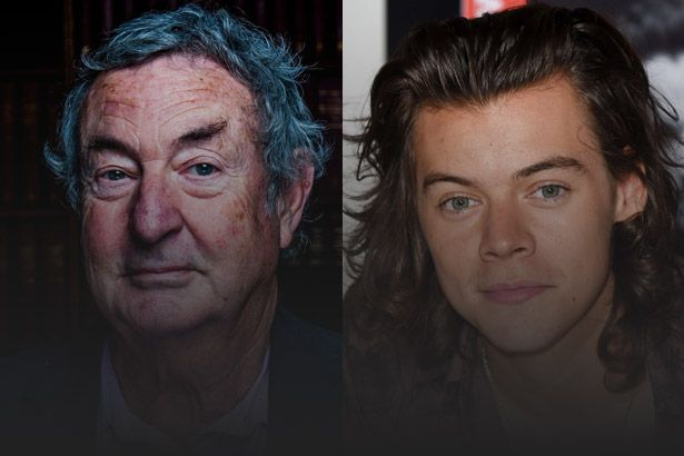 Placeholder - loading - Ex-baterista do Pink Floyd quer tocar com Harry Styles Background