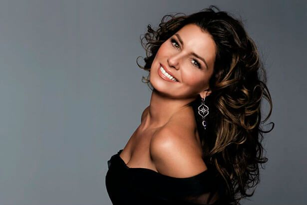 Shania Twain será homenageada no Billboard Women In Music Background