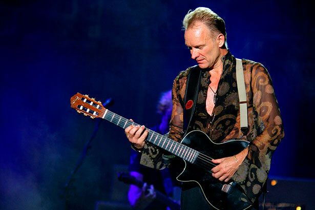 Bataclan será reaberto com show de Sting Background