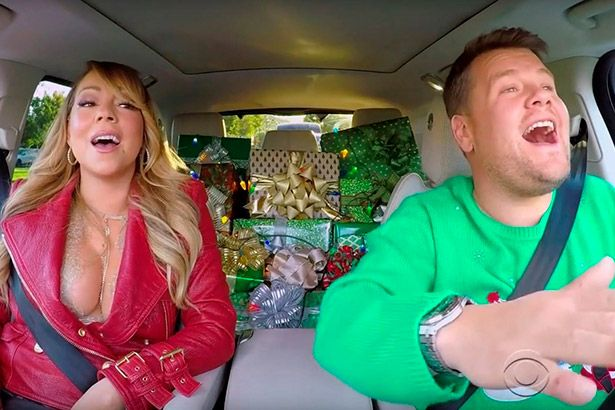 Veja Carpool Karaoke natalino com Mariah, Adele e outros Background