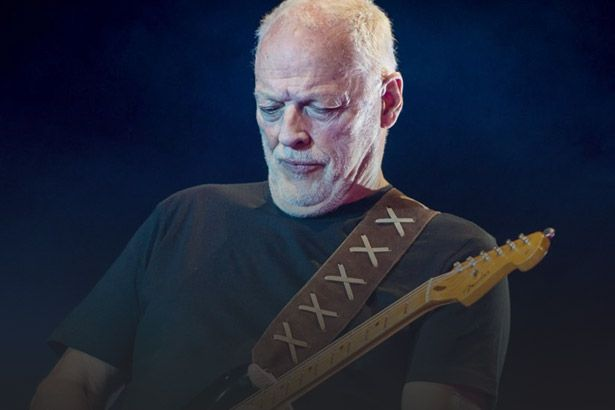 David Gilmour libera trecho de show em Pompeia Background