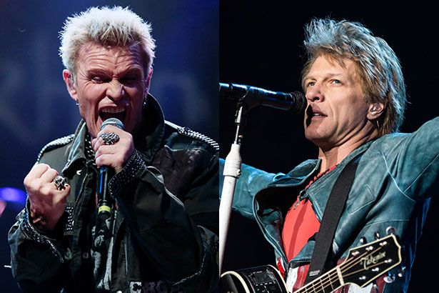 Billy Idol e Bon Jovi são confirmados no Rock in Rio Background