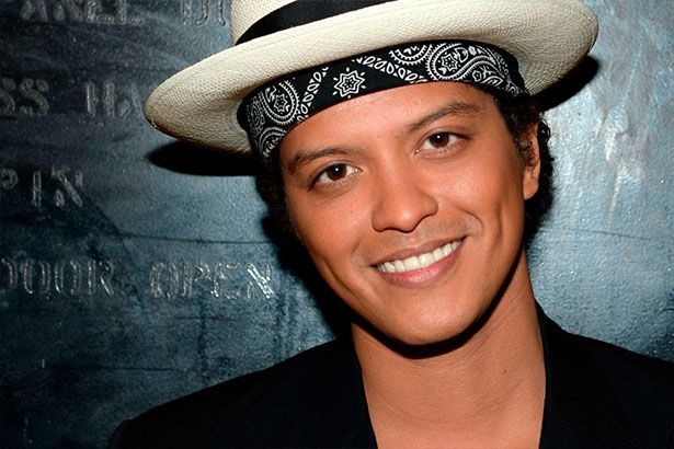 Bruno Mars anuncia turnê mundial Background
