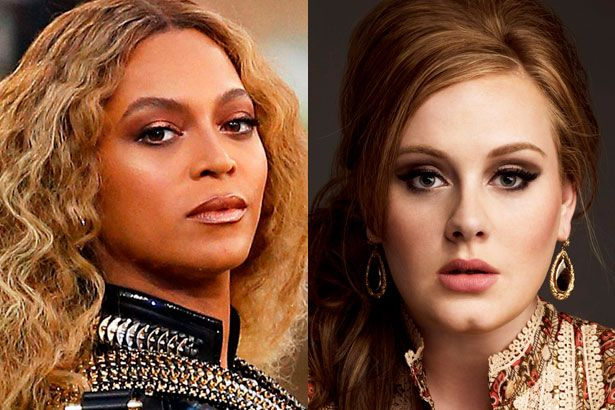 Beyoncé e Adele concorrem às principais categorias do Grammy 2017 Background
