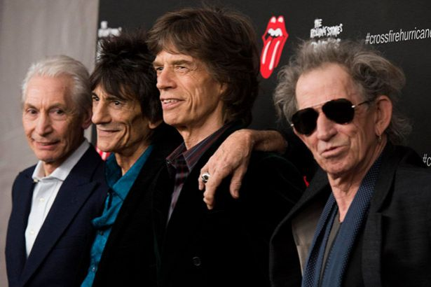 Rolling Stones lamentam morte de Chuck Berry Background