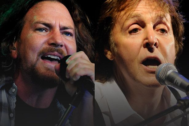 Eddie Vedder faz revelação sobre Paul McCartney Background