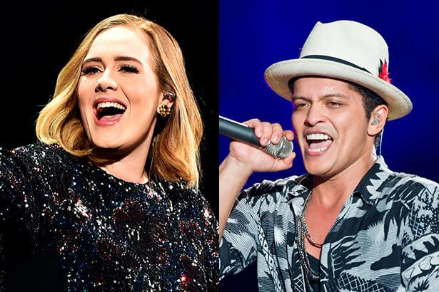 Bruno Mars fala sobre parceria com Adele em All I Ask Background