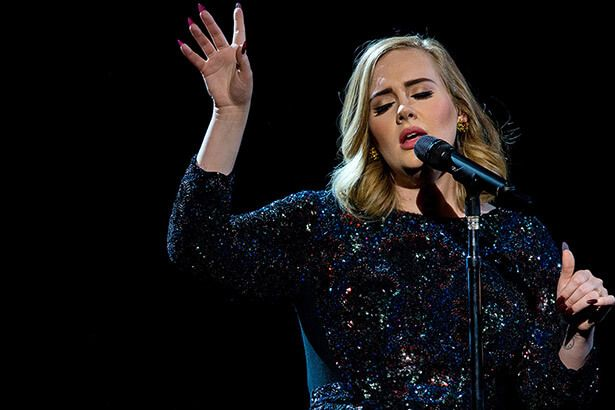Adele encerra turnê nos Estados Unidos Background