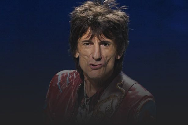 Ronnie Wood, dos Rolling Stones, passa por cirurgia no pulmão Background