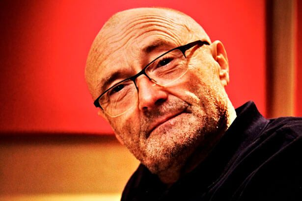 Phil Collins fala sobre alcoolismo em autobiografia Background