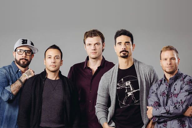 Backstreet Boys farão temporada de shows em Las Vegas Background