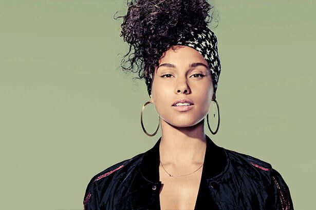Alicia Keys divulga canção inédita e tracklist de Here Background