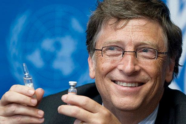 Placeholder - loading - Bill Gates e a mulher investem em tratamento para prevenir HIV Background