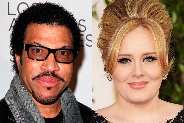 Lionel Richie anuncia possível parceria com Adele Background