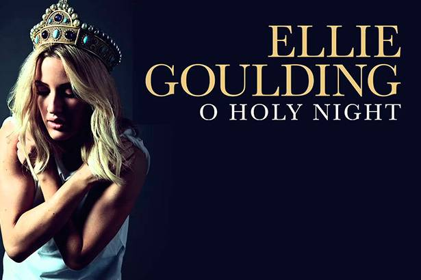 "Ellie Goulding grava nova versão de ""O Holy Night"" Background"