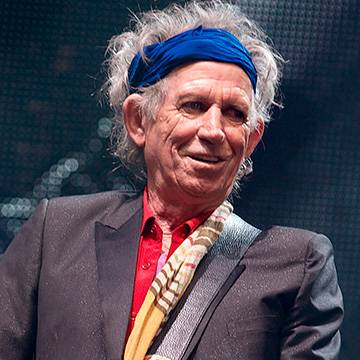 Keith Richards anuncia novo disco solo