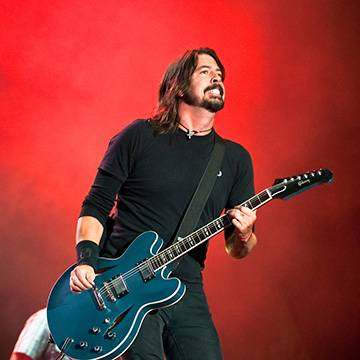 Foo Fighters interrompe marcha homofóbica nos EUA Background