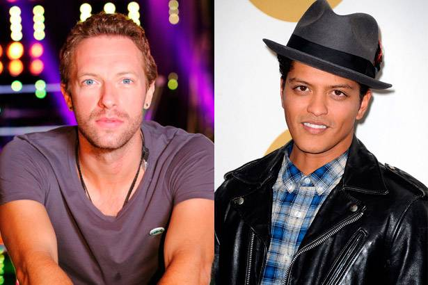Bruno Mars participará do Super Bowl ao lado do Coldplay Background