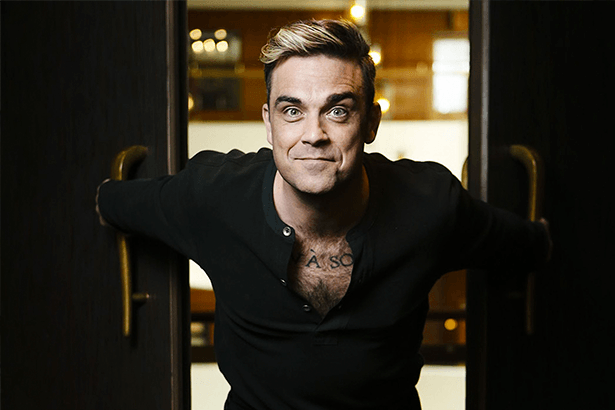Robbie Williams pode ser novo jurado de reality show Background