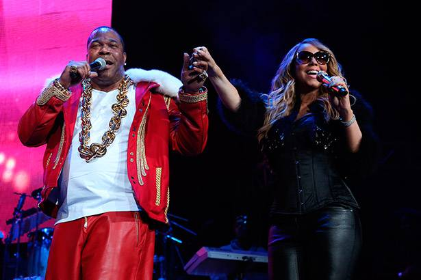 "Assista a Mariah Carey e Busta Rhymes cantando ""I Know What You Want"""