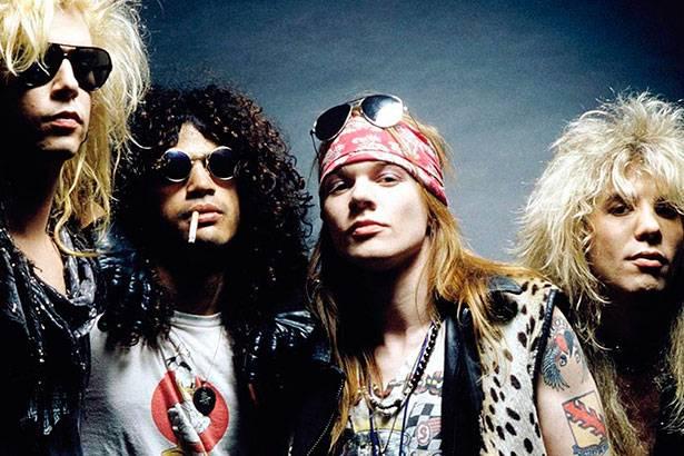 Formação original de Guns N'Roses está de volta! Background