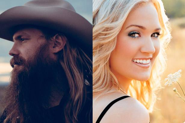 Artistas country lideram a parada de álbuns da Billboard Background