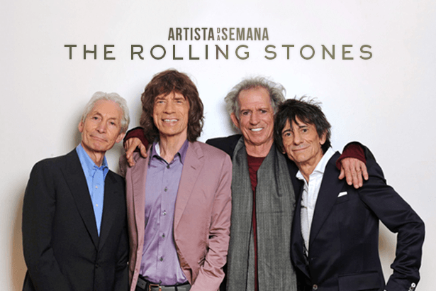 The Rolling Stones é o Artista da Semana! Background