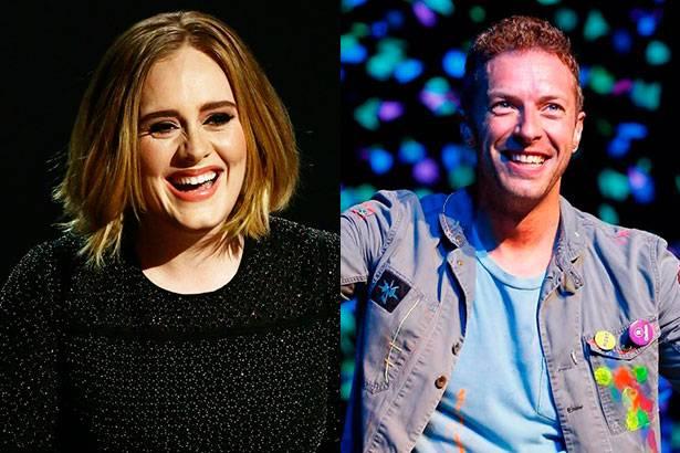Coldplay e Adele fazem apresentação em programa britânico Background