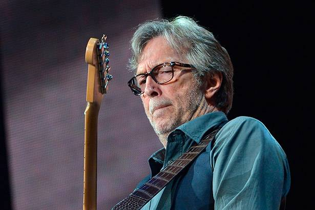 Eric Clapton anuncia novo disco Background