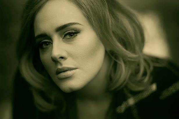 "Adele bate recorde com o clipe do single ""Hello"" Background"
