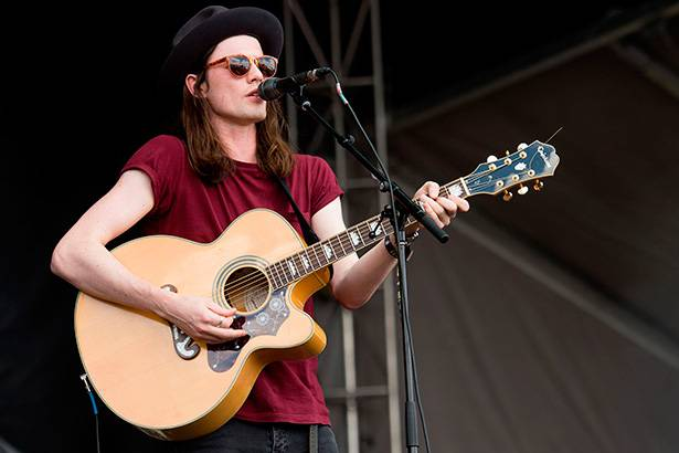 James Bay fará apresentação no BRIT Awards 2016 Background